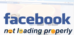 Facebook not loading or slow
