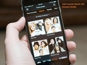 Add Favorite Music File to Amazon Kindle Fire