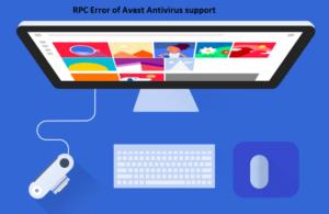 RPC Error of Avast Antivirus support