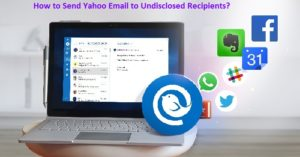 Send Yahoo Email to Undisclosed support