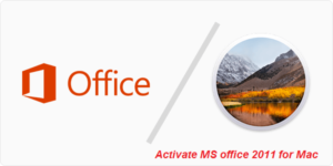 activate office 2011 for mac