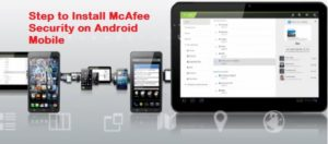 how to Install McAfee Security on Android?