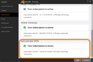 avast offline registration license key