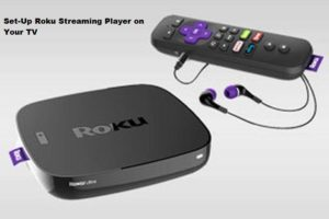 Set-Up Roku Streaming Player