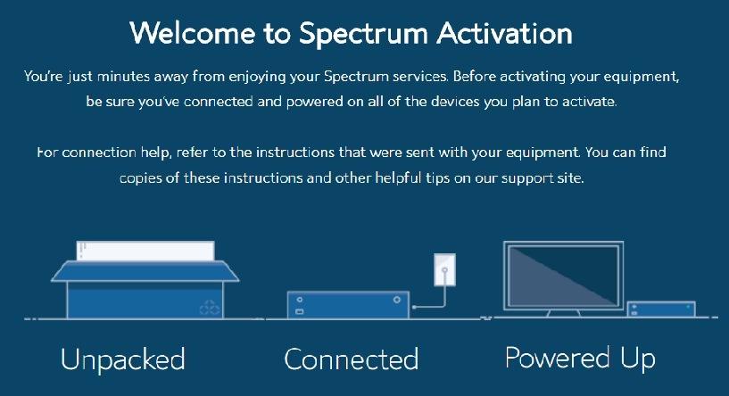 spectrum activation fee