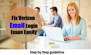 Verizon Email Login Issues