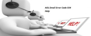 AOL Email Error Code 554
