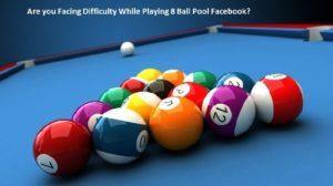 8 Ball Pool Facebook helpline number
