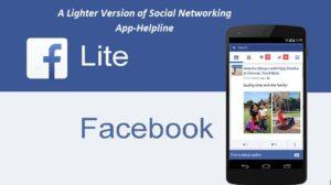 Facebook Lite Help